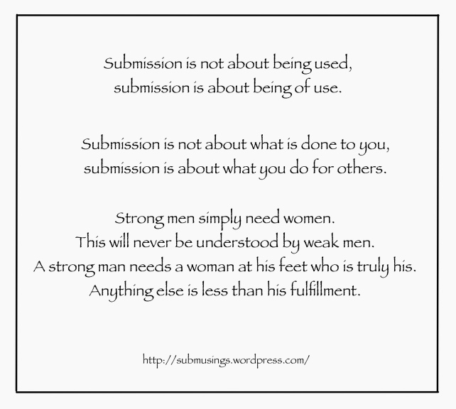 Submission is not….